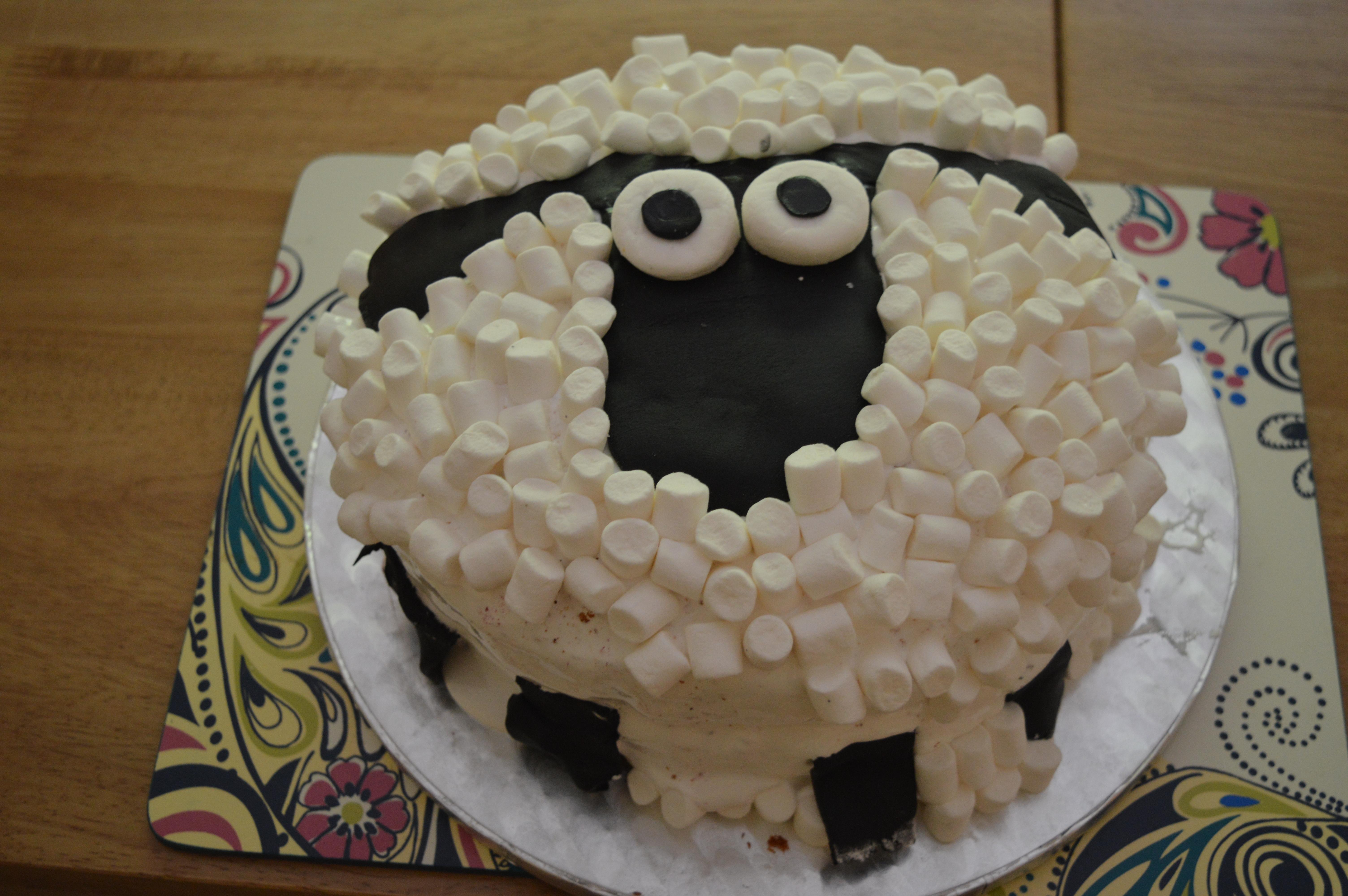Terrific Shaun The Sheep Birthday Cake Mess In The Ness Funny Birthday Cards Online Benoljebrpdamsfinfo